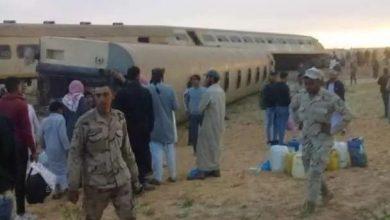 Photo of السكة الحديد : لا وفيات فى حادث قطار مطروح