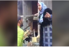 "Photo of مشادة بين نائبة رئيس مركز المنصورة و صاحب عقار قالت له : "" يلا يا روح امك من هنا """