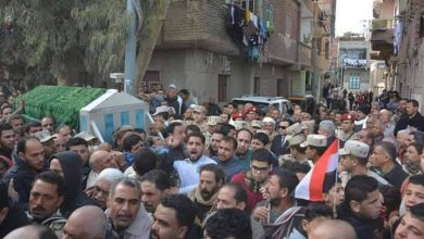 Photo of نائب المحافظ يؤدى واجب العزاء فى شهيد الوطن بأجا