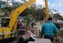 Photo of بالصور : إزالة التعديات على أملاك الدولة بنطاق حى غرب المنصورة