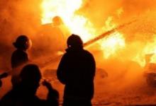 Photo of أصابة 3 أشخاص بحروق متفرقة واحتراق محتوى المصنع بأجا