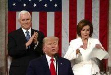 Photo of بتمزيقها لخطاب ترامب بيلوسي ملكة بعيون الأمريكيين