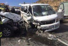 Photo of إصابة 3 أشخاص في حادث تصادم بطريق ميت غمر