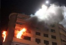 Photo of تفحم 4 أشخاص في حريق شقة بالجيزة