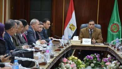 Photo of اجتمع اليوم محافظ الدقهليه مع رؤساء المراكز والمدن والاحياء ووكلاء الوزارة