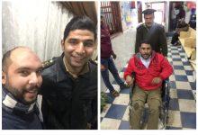 """Photo of ضباط المرور مش بتوع مخالفات بس.."""" الجانب الإنساني منهم """""""
