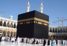 Photo of توافد المصلّين علي المسجد المكي فجر اليوم