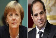 Photo of ميركل تشكر السيسى على دعم مصر فى أزمة كورونا