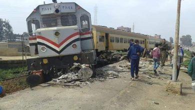 Photo of انحراف عجلات قطار بمحطه بسنديله دون وقوع  إصابات