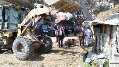 Photo of إزالة ٣٢٠ حالة تعدى ومخالفات بناء على أراضى الدولة