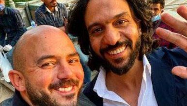"""Photo of العسيلي مع بهاء سلطان …""""ليفيل الوحش"""""""