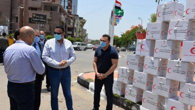 Photo of محافظ الدقهلية يستقبل فريق الهلال الأحمر ويتفقد مواد التطهير والتعقيم