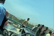 Photo of مصرع 10 أشخاص وإصابة آخرين في حادث تصادم أعلى الدائري