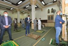 Photo of محافظ الدقهلية يؤدي صلاة العشاء بمسجد الصديق بالمنصورة