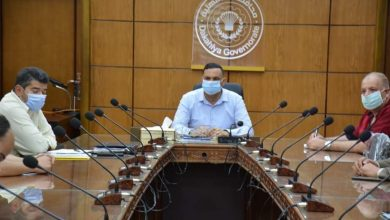 "Photo of "" محافظ الدقهلية"" في اجتماع مع  رؤساء مدن المنطقة المركزية"