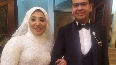 Photo of الإعلامية إيمان على حسين تهنىء العروسين