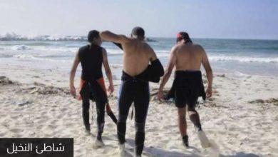 """Photo of البحر يلفظ جثة غير مكتملة بشاطيء النخيل يُعتقد أنها جثة """"شادي"""""""