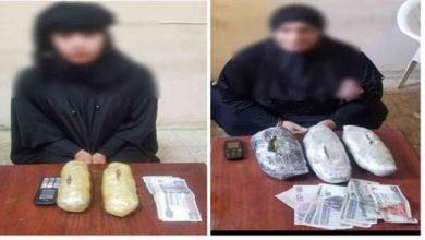 Photo of ضبط سيدتين بحوزتهما مخدر البانجو بالإسماعيلية