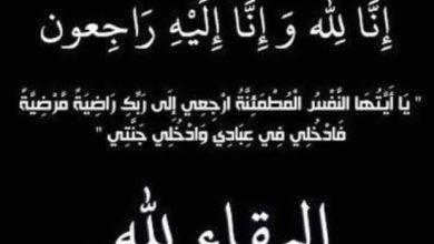 Photo of تنعى الإعلامية ايمان على حسين الدكتور محمد عفيفي