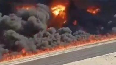 Photo of وزير البترول يتوجه إلي موقع حادث حريق خط انابيب بطريق الإسماعيلية