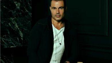 """Photo of وجود """" عمرو دياب """" في شارع المعز لـ تصوير اغنيته الجديدة"""