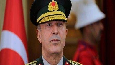 """Photo of وزير دفاع تركيا"""" خلوصي اكار """" يتحدى المجتمع الدولي"""