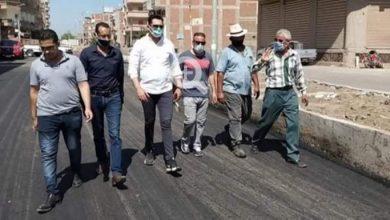 Photo of رئيس بلقاس يتفقد أعمال الرصف بعدد من الشوارع