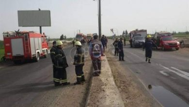 Photo of مصرع شخص و إصابة 7 أشخاص في تصادم سيارتين بـ الدقهليه