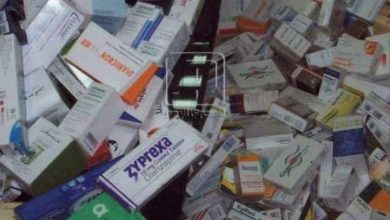 Photo of ضبط مجموعة كبيرة من الأدويه مجهولة المصدر في الإسكندرية