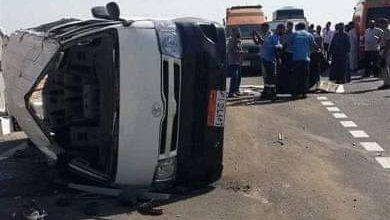 Photo of مصرع شخص وإصابه اثنين فـي حادث سيارة بـ اسوان