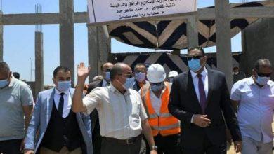 Photo of محافظ الدقهلية يتفقد قطعة أرض تخدم المنطقة الصناعية فى جمصة