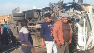 Photo of إصابة 5 أشخاص فى حادث بسبب انقطاع الفرامل بالمقطم