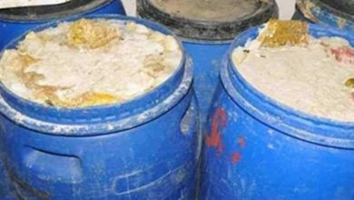 Photo of ضبط مصنع مخلل بدون ترخيص في حملة تموينية بأجا