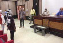 Photo of الدكتور ايمن عثمان والدكتور عادل مكي يشاركا في اختبار القدرات بتربية رياضية اسوان