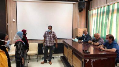 Photo of لجنة بالمجلس الأعلى للجامعات تزور التربية الرياضية باسوان