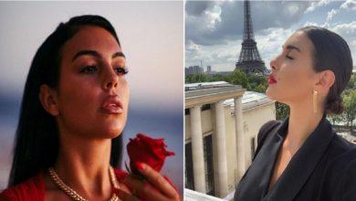 Photo of ياسمين صبري والشبه القريب من بجورجينا صديقه رونالدو