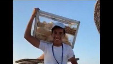 Photo of بائع الفيرسكا رودا أحد الشواطئ حاصل علي 99.6 في الثانويه العامه