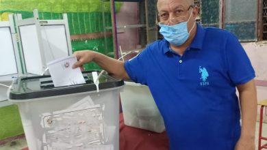 Photo of مجدي الشيخ يُدلي بصوته فى انتخابات مجلس الشيوخ