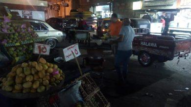 Photo of حملة ليلية لازالة الإشغالات بنطاق المدينة