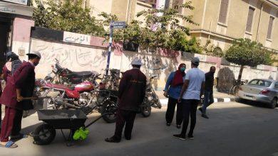 Photo of مختار يتابع اعمال حملة النظافة ورفع القمامة من شوارع المنصورة