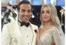 Photo of أحمد فهمي لـ هنا الزاهد: برافو عرفتي تروضيني في عيد زواجهما الاول