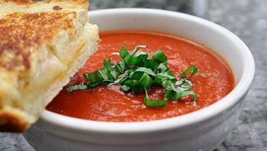 Photo of شوربة الطماطم الإيطالية