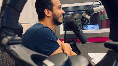 Photo of امير محروس اصغر معلق في الوطن العربي بقنوات on time sport