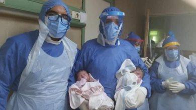 Photo of نجاح عملية ولادة توأم لأم مصابة بالكورونا بجامعة المنصورة