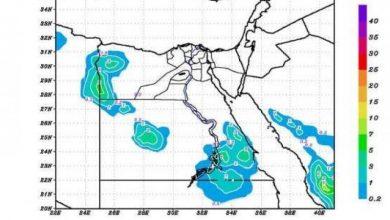 Photo of خريطة سقوط الأمطار خلال الـ5 أيام القادمة