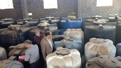 Photo of ضبط 38.4 طن مخللات غير صالحة للاستهلاك الادمى