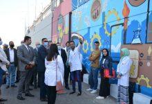 Photo of محافظ الدقهلية يتفقد جدارية المشاية السفلية بالمنصورة