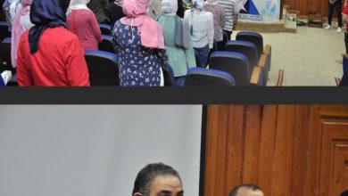 Photo of كلمات رئيس جامعه كفر الشيخ خلال حفل إستقبال الطلاب الجدد