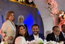 Photo of عقد قران هنادى مهنى وأحمد خالد صالح