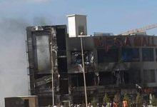"""Photo of حريق في """" ميجا مول """" الشهير بالتجمع الخامس"""